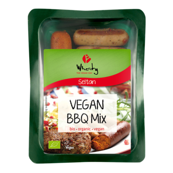 Vegan BBQ mix, Wheaty 200g