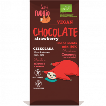 Organic chocolate with...