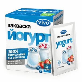 Dry bacterial yoghurt...