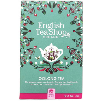 Organic Oolong Tea, English...