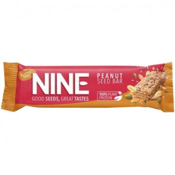 Peanut seed bar, 40 g Nine