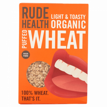 Organic Puffed Wheat, Rude...