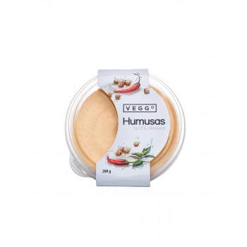 Spicy hummus, 200g Veggo