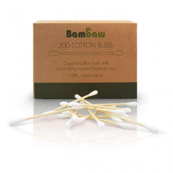 Bamboo ear buds, 200pcs.,...