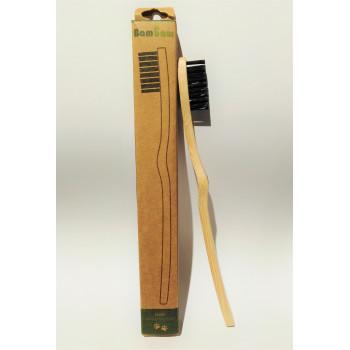 Bambukinis dantų šepetėlis...