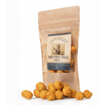 Dried fruit balls, With...