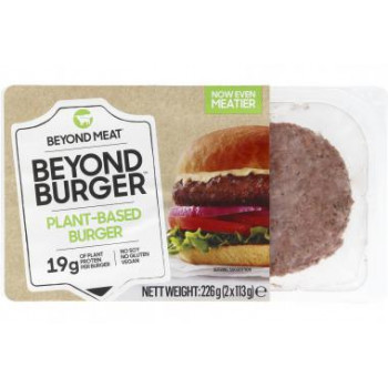 Vegan burgers BEYOND MEAT...