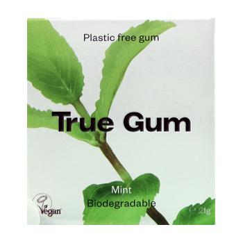 Chewing gum mint flavor,...