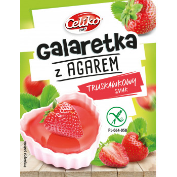Strawberry flavored jelly...