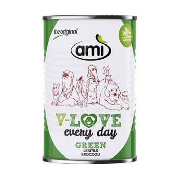 AMI V-Love Green - läätsed...