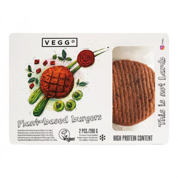 Vegānu jēra burgeri VEGGo,...