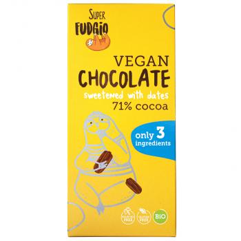 Organic chocolate sweetened...