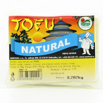 Naturaalne tofu, 180 g Sunfood