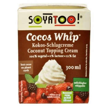 Coconut whipped cream, 300...