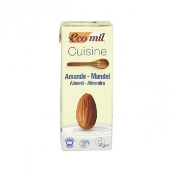Almond cream, 200 ml EcoMil