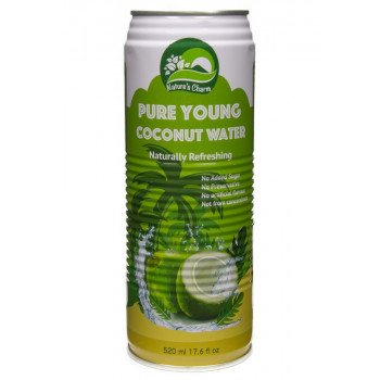 Pure young coconut water,...