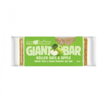 Oat giant bar with apples...