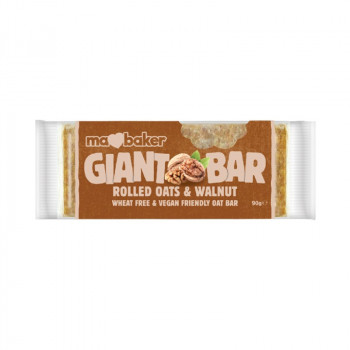 Oat giant bar with walnuts...