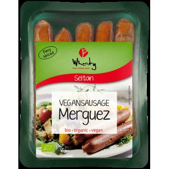 """Mahe vegan vorst """"Merguez"""",..."""