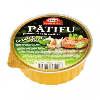 Patifu spread with basil...