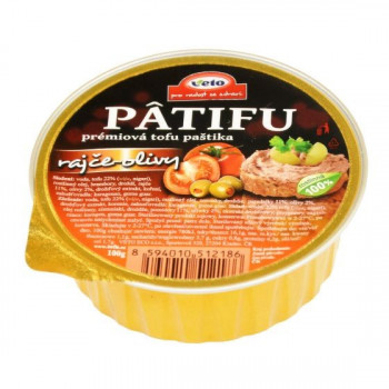 Patifu spread with tomatoes...