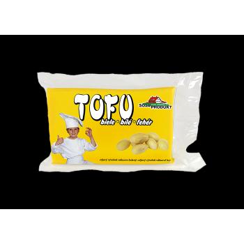 Baltas tofu, 200g Soja Produkt