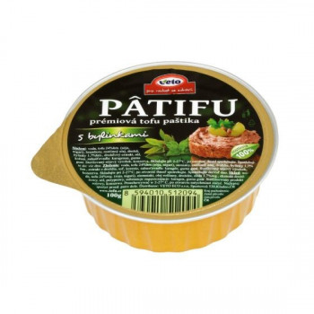 Patifu spread with herbs,...