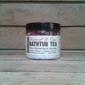 Coconut Rose Bathtub Tea,...