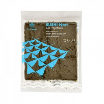 Jūros dumblių lapai sushi...