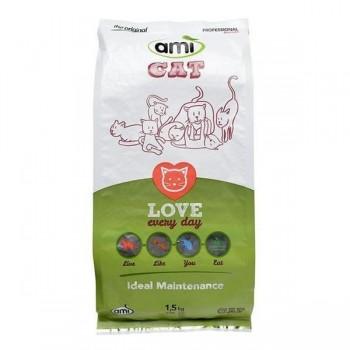 Kaķu barība, 1,5 kg Ami