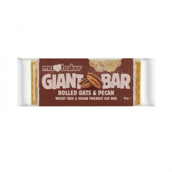 Oat giant bar with pecans...