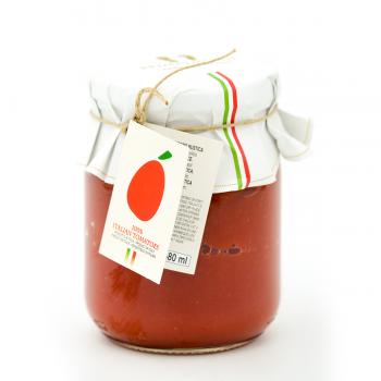 Kaimiškas pomidorų padažas...